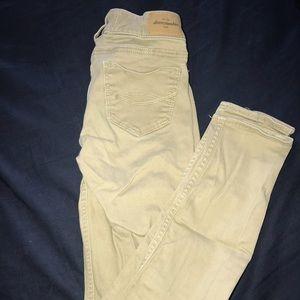 Abercrombie kids low rise skinny jeans